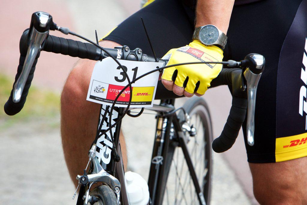 DHL Tour de France stuurbordje MIR