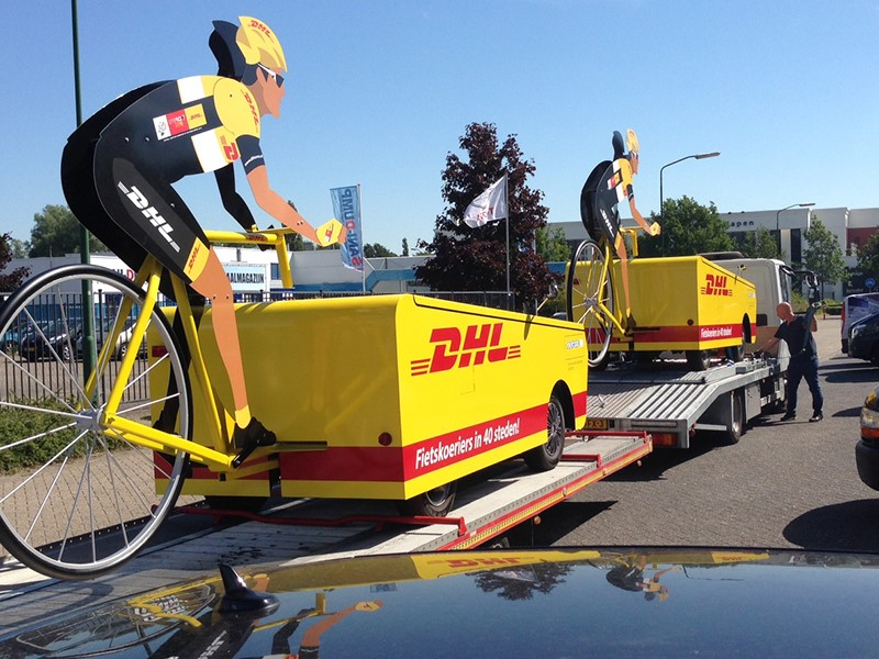 DHL Tour de France logistic partner