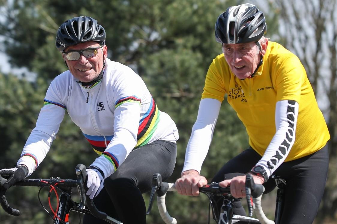 Joop Zoetemelk & Bernard Hinault - Wielerclinic MIR Sportmarketing