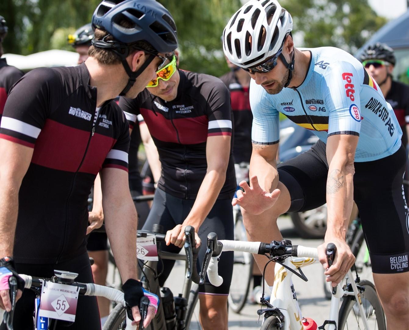 Tom Boonen wieler clinic