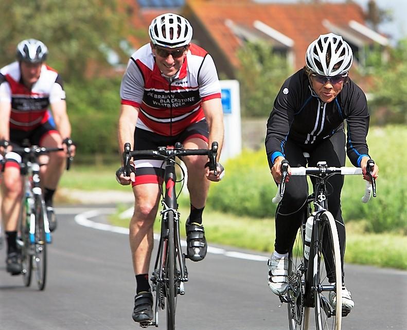 Leontien van Moorsel wielerclinic